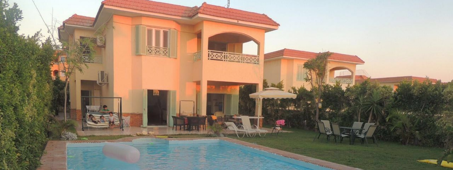 [Image: Villa with private pool - Krair Lagoun Resort]
