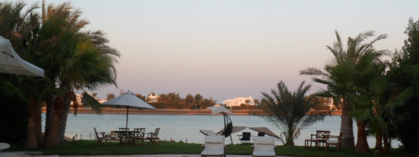 [Image: Luxurious White Villa, Phase 4, El Gouna]